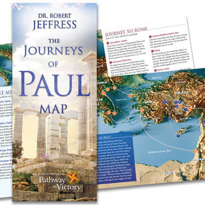 The Journeys of Paul Map
